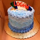 Ocean smash cake